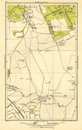 KENTON. Belmont, Stanmore, Canons Park, Edgware 1923 old vintage map chart